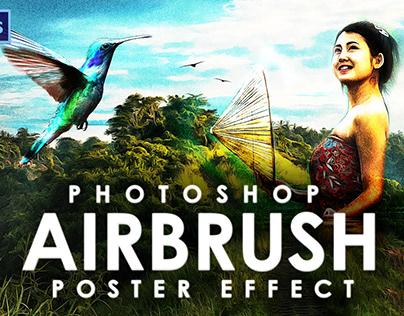 Airbrush Photoshop Action