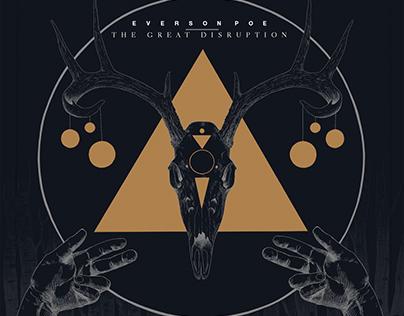 Album Cover: Everson Poe - The Great Disruption
