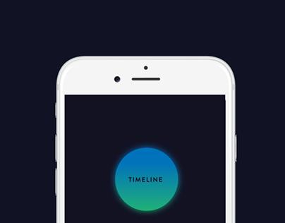 Timeline App - UI | UX