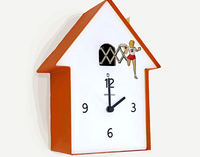 Hooters Clock