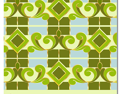 Tile Pattern. A Geometric Experiment.