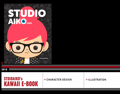 Movie: Kawaii E-Book. Character Design & Illustration