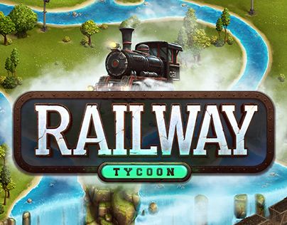 Railway | Tycoon Game Art Development