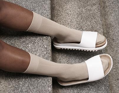 Mr. Bailey x ekn Footwear PALM Slide