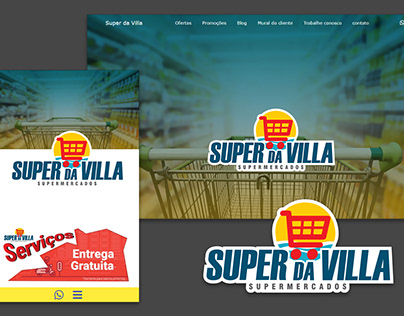 Website Super da Villa