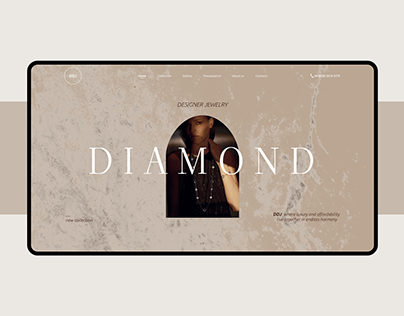 Diamond landing page