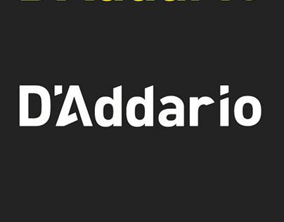 D'Addario Branding Identity