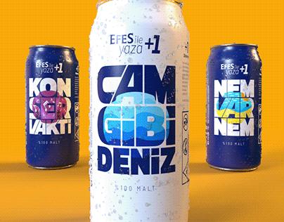 Efes - Beer Label Design