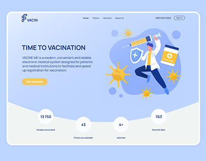 VACIN.ME Vaccination website