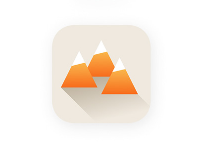 Mount App Icon Set