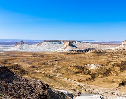 Bozzhira, unexplored region of Mangystau