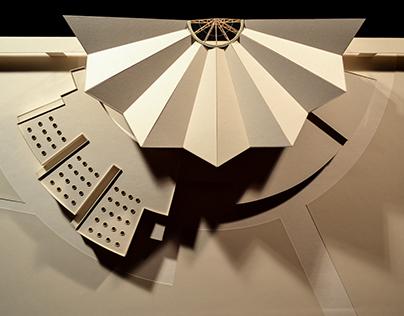 Architect Model / Palazzo dello sport e il tempo libero