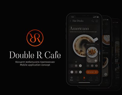 """Концепт мобильного приложения - """"Double R Cafe"""""""