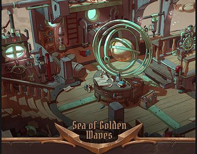 Sea of Golden Waves l Interior prop