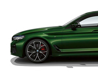 BMW M550i - 2020 - Studio CGI