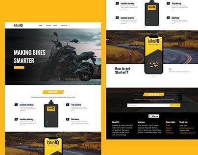 BikeIQ Website Design