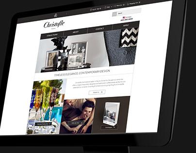 Christofle Corporate Gift website