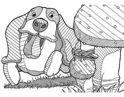 Two panel animal