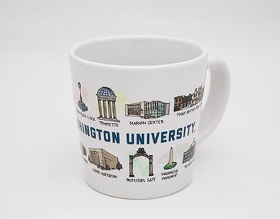 GW Campus Stores Mug