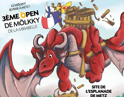 Affiche - Open de Mölkky