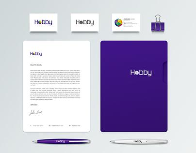 Logo & Brand identity design - Hobby