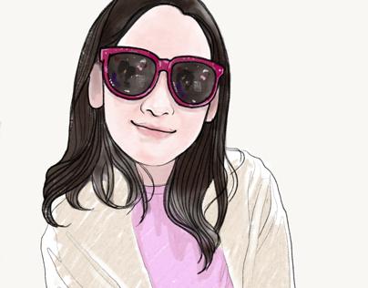 Portrait - Chrissy