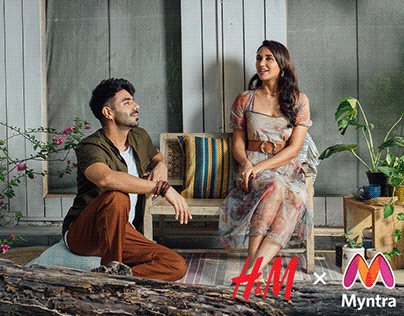 H&M X Myntra   First anniversary campaign