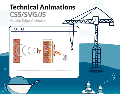 Technical Animation CSS/SVG/JS