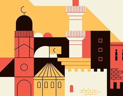 Elementi Magazine – Illustrations