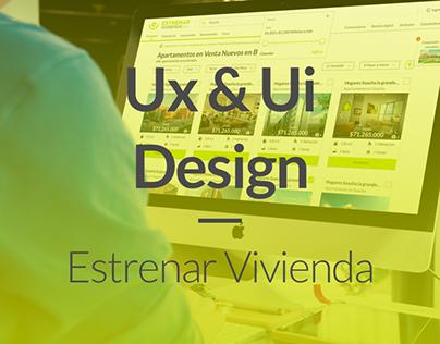 Ux / Ui project - Estrenar Vivienda