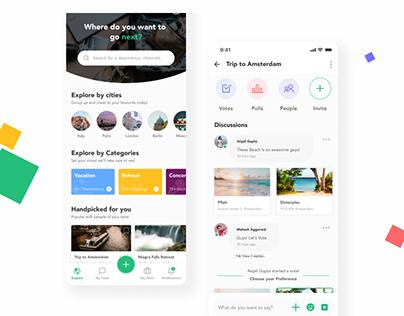 Vacation App Design Concept