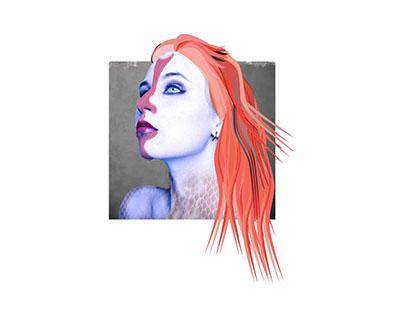 La Sirena Illustration