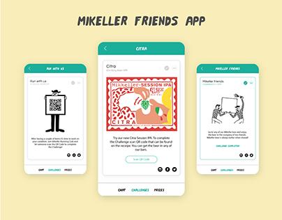 Mikeller Friends App