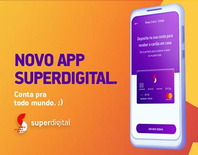Superdigital :: Novo app