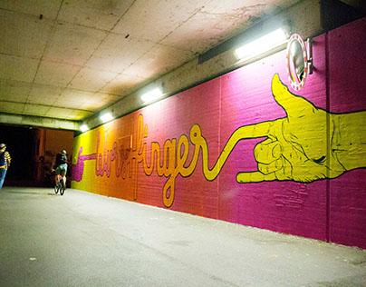Wurstfinger Mural