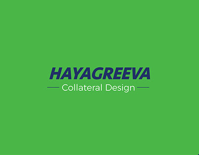 Hayagreeva Collateral Design | Digital Verto