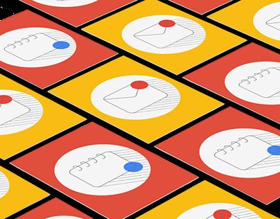 Redesigning Google Icons