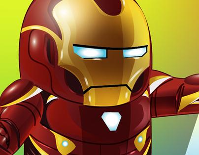 Illustrator on the iPad: IRONMAN