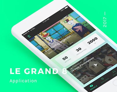 Le Grand 8 — Application.