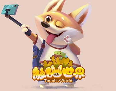 触碰世界-Game UI全案设计
