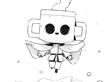 Cuphead Magician - Animated