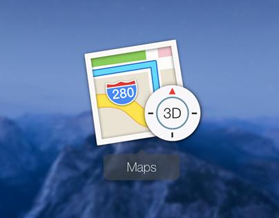 El Capitan Maps App Icon (Redraw in Sketch)