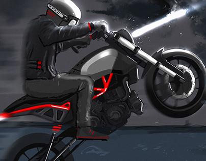Moto concept art