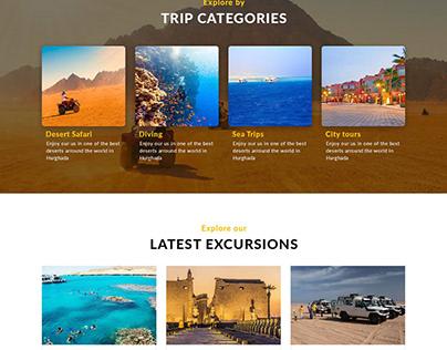 Travel Websites Portfolio