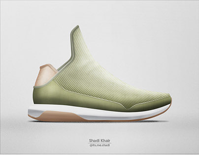 Sneaker Design: Mercury Mid Top