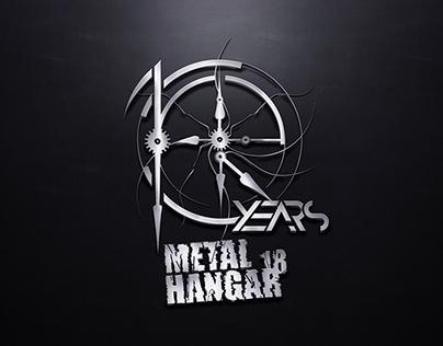 10 Years Metal Hangar 18 Tee (2017)