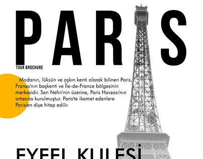 Paris Poster Design