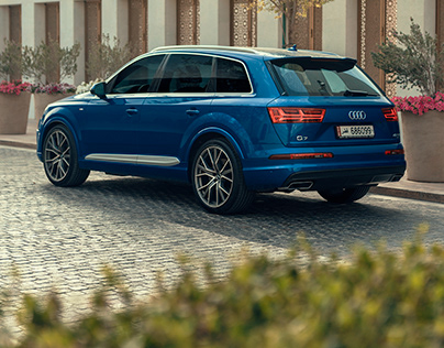 Audi Q7 from the heart of Qatar