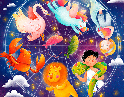 """Children book """"Fairytales of the starry sky"""""""