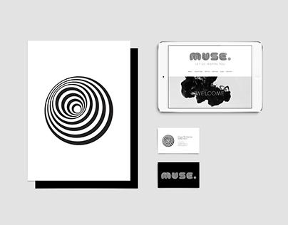 Muse Brand Identity & Website